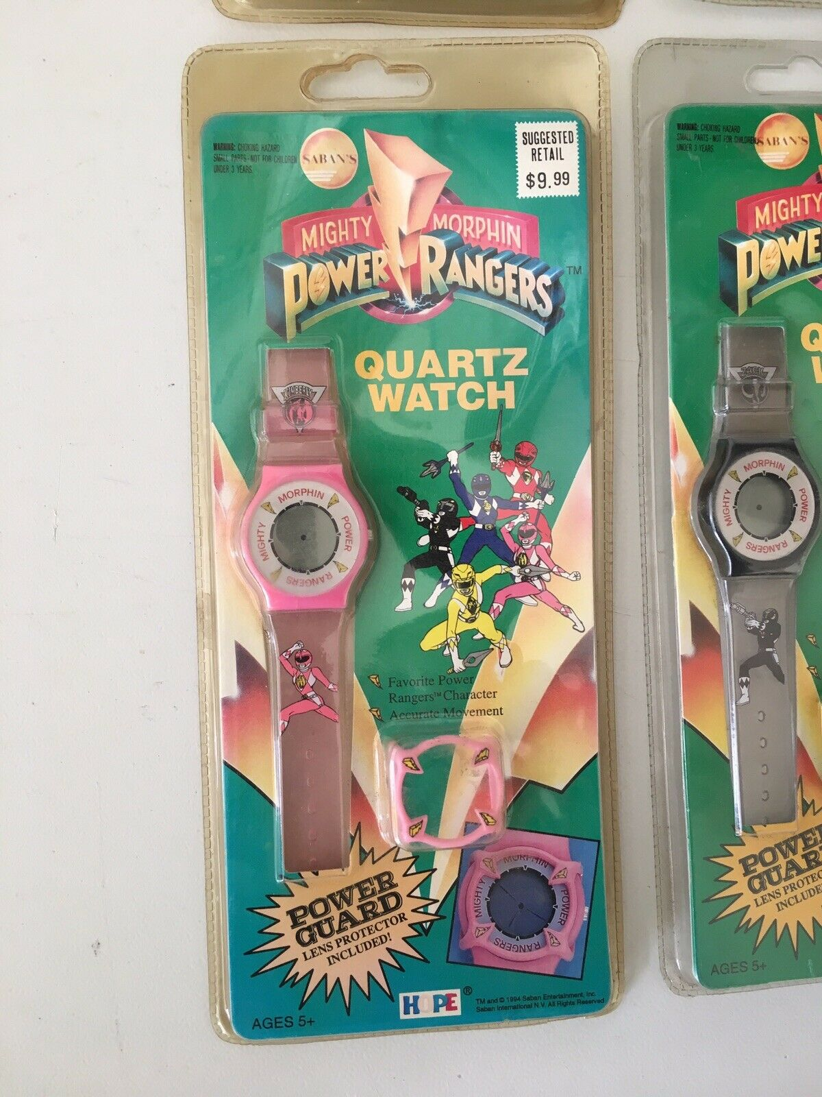 Vintage Lot Of 6 Mighty Morphin Power Power Power Rangers 1994 Watch Sealed 44d9c7