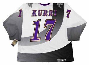 JARI-KURRI-Los-Angeles-Kings-1995-CCM-Vintage-NHL-Hockey-Jersey