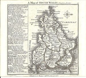 Antique-map-South-Wales