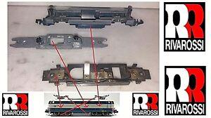 RIVAROSSI-VINTAGE-CHASSIS-TELAIO-COMPLETO-3-PEZZI-per-TARTARUGA-E444-FS-SCALA-N