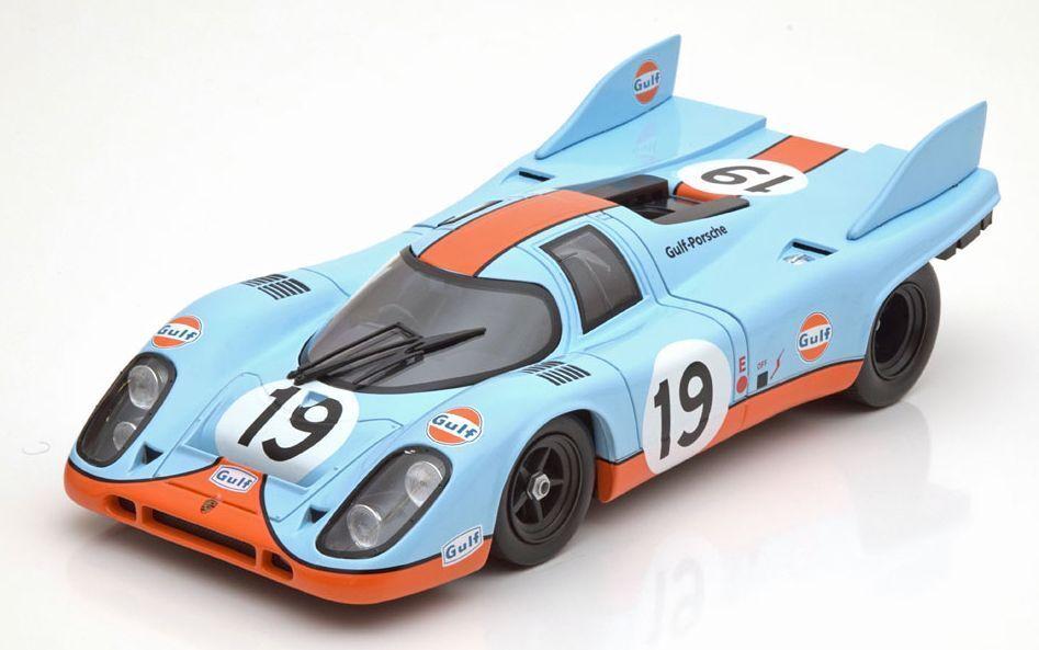 1 18 NOREV 1971 GULF Porsche 917K Le Mans Müller Attwood LE1000pcs.