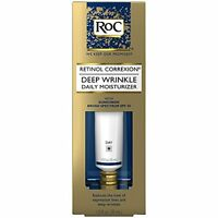 2 Pack Roc Deep Wrinkle Daily Moisturizer Retinol Correxion Spf30 1.0 Oz Each on sale