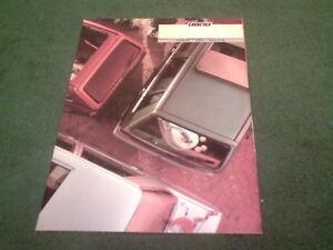 1987 FIAT PANDA UNO REGATA Solar éditions spéciales UK brochure + liste de prix-afficher le titre d`origine 9VpiQtSQ-07135856-483296352