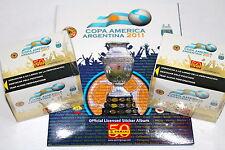 Panini copa america argentina 2011 - 2 x display box 100 bolsas calidad + Album
