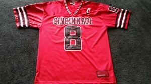 aad5a4245292 Cincinnati Bearcats  8 Football Jersey MEN s Size Large Colosseum ...