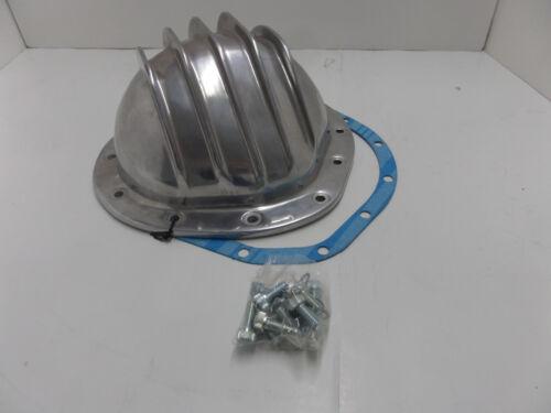 Alumínio polido de alhetas Diferencial Tampa Chevy Gm 12 parafusos 12 parafusos Eixo Traseiro