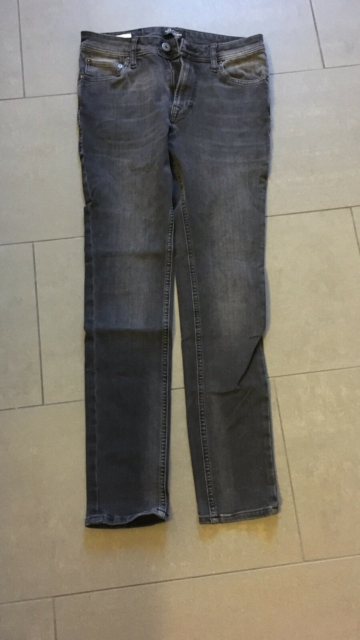 Jeans, Jack & Jones , str. 29, Grå, Cowboy, God men brugt,…