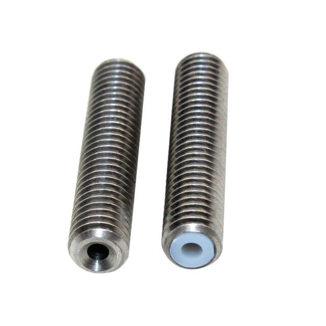 M6 X 30mm Teflon Tube Barrel for Ivelink MK8 Extruder Hot End Assembled Part