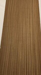 "38"" X 5.5"" 10 Sq Ft Figured Eucalyptus Wood Veneer 7 Sheets"