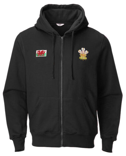 New Kids Boys Wales Cymru /'Shak/' Pullover//Zip Up Hooded Sweatshirt Hoodie Jacket