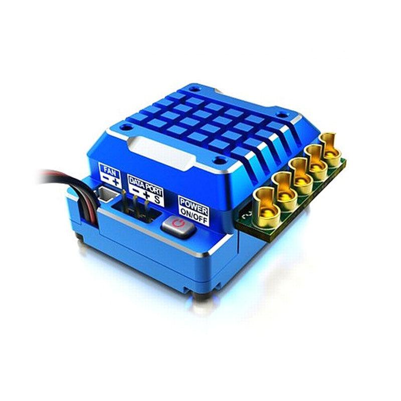 SKYRC Toro TS120 Aluminum PRO Brushless Sensorosso ESC blu TS 120 USA SELLER