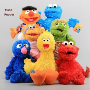 Sesame-Street-Elmo-Animal-Plush-Hand-Puppet-Play-Game-Furry-Doll-Toy-Fun-Gift