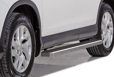 "Premium 4/"" Black iBoard Side Steps Fit 03-08 Nissan Murano"