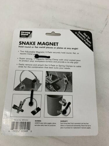 Third hand Strong Hand Tools Welding Magnets MFC312 Snake Magnets