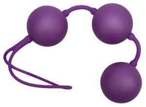 Palline Vaginali Auto Vibranti Velvet Purple Balls Ø3.5 cm sfere in ABS Sextoy