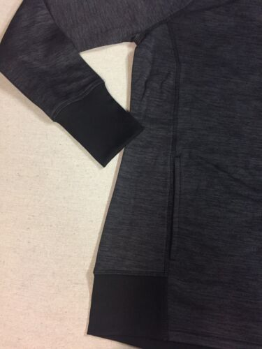 2A222 RBX Activewear Womens Charcoal Hoodie Size XL