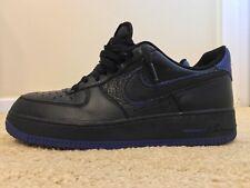 more photos d5cc9 3065c item 5 Nike Air Force 1 One AF-1, 488298-006, Black Blue, Men s Casual Shoes,  Size 9.5 -Nike Air Force 1 One AF-1, 488298-006, Black Blue, Men s Casual  ...