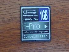 integral iPRO MEMORY card CF Compact-Flash 4GB GB 15mb/s SONY NIKON CANON