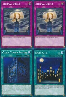 Yu Gi Oh 2x Eternal Dread Clock Tower Prison Dark City Lehd Nm 1st Ed Common Ebay