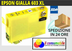 INKJET-GIALLO-T603XL-COMP-EPSON-Expression-Home-XP-2100-XP-4100-XP-3105-XP-2105