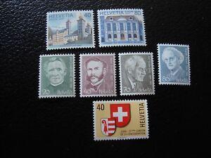 Switzerland-Stamp-Yvert-Tellier-N-1058-1059-1067-A-1071-N-MNH-COL1