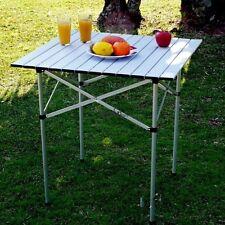 """26.5"""" Camping Outdoor Garden BBQ Picnic Portable Folding Aluminum Table Hot"""