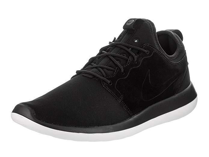 Nike Herren Herren Herren Roshe Zwei Br Mode Schuhe Turnschuhe Schwarz Weiß 898037 001 Neu Sz 12 24c511
