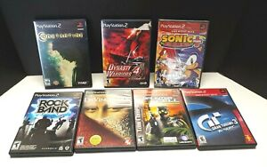 PS2-Playstation-Lot-of-7-Constantine-Dynasty-Warriors-Rock-Band-Splinter-Cell