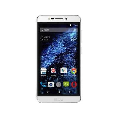 "Blu STUDIO C HD S090Q 8GB 3G Unlocked Cell Phone 5"" 1GB RAM White"