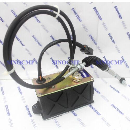 SINOCMP 247-5234 2475234 Single Cable Throttle Motor for 325BL E325BL Excavator