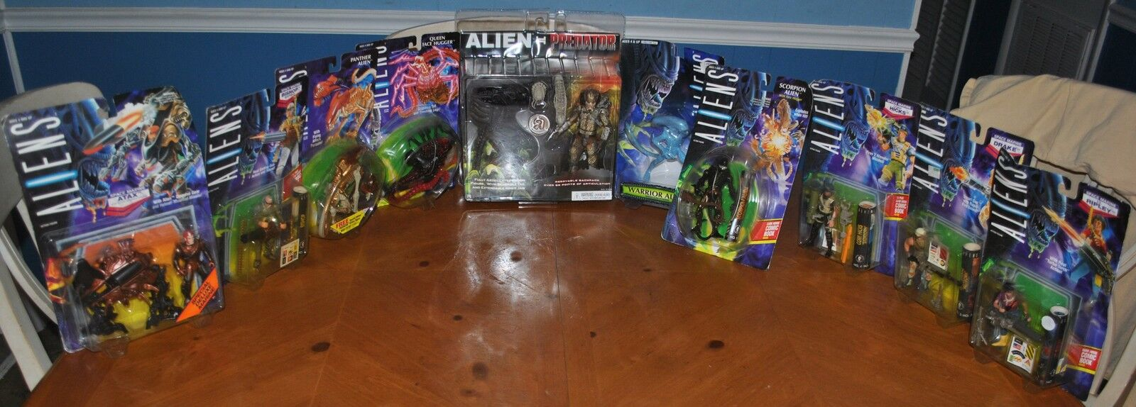 ULTIMATE ALIEN / ALIENS ACTION FIGURE DEAL WITH SOME VERY RARE PIECES