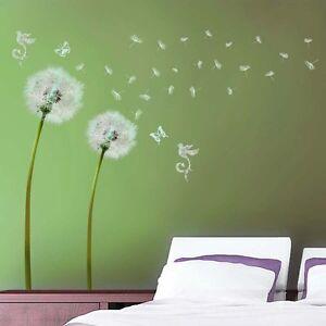 Abstract Dandelions Vinyl Wall Decal Sticker Art