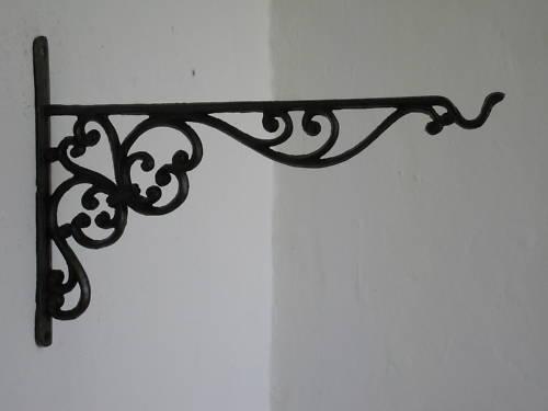 Regal Konsole Wandkonsole Regalträger Haken Eisen 35 cm Ausleger Halterung