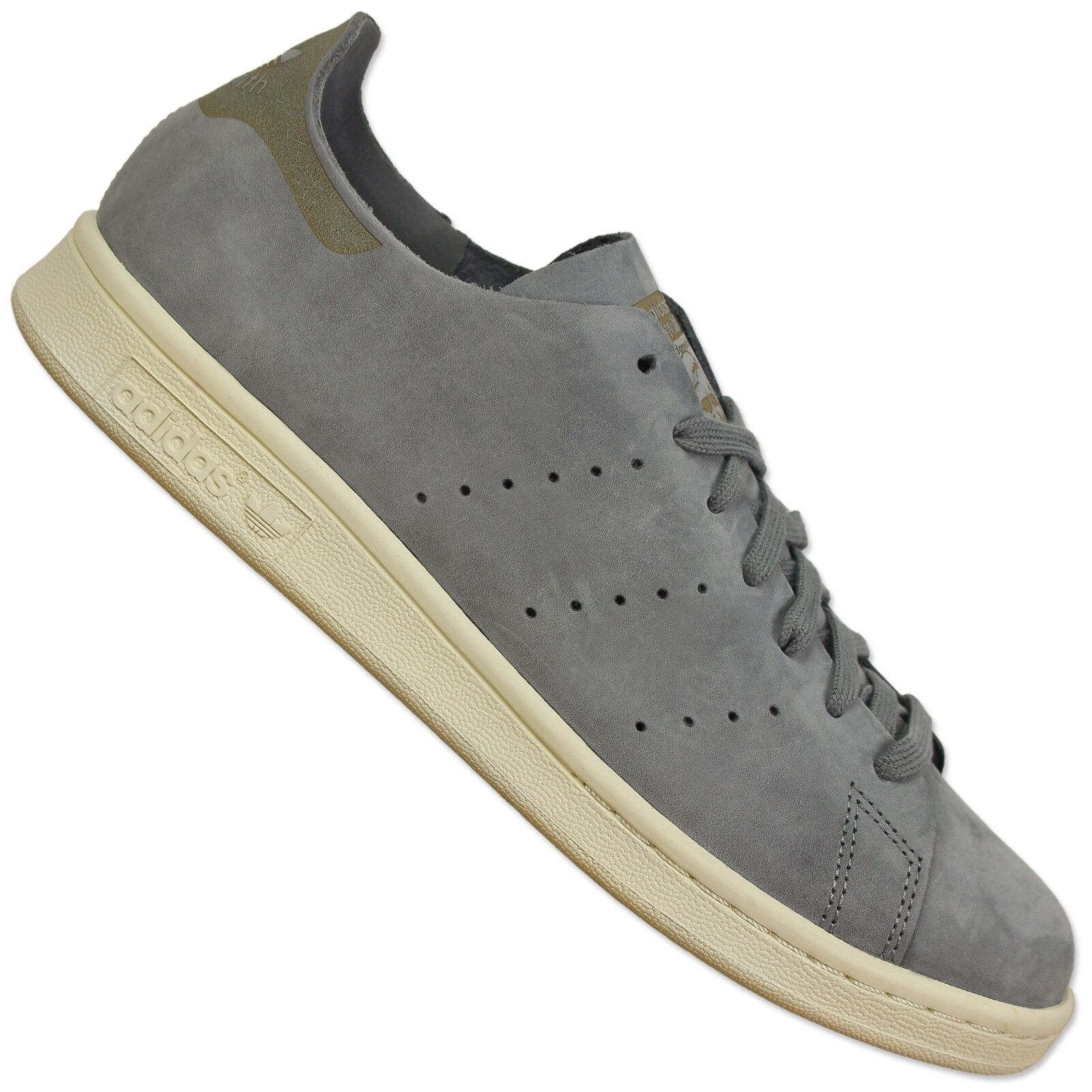 ADIDAS ORIGINALS STAN SMITH OP CLEAN LEDER SNEAKER S79465 GRAU SCHUHE GREY