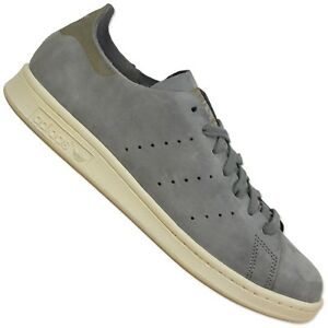 Adidas-Originals-stan-smith-op-Clean-cuir-sneaker-s79465-GRIS-Chaussures-Grey