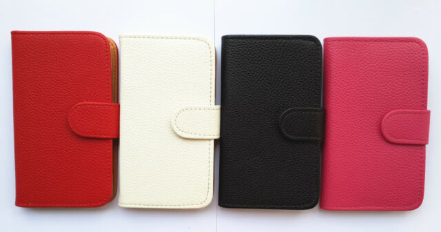 Flip PU leather Card Holder Wallet Pouch Cover Case For various phones 2