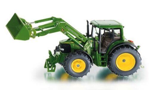 NEW FARMER SIKU 3652 John Deere 6820 Tractor 1:32 /& Front Loader Diecast Model