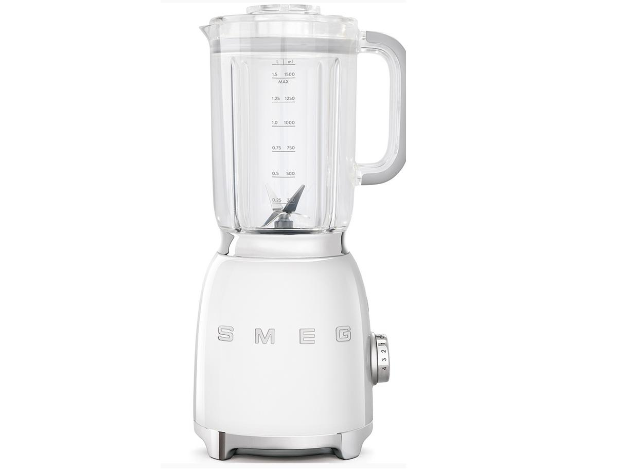 Smeg Coefficient Multiplicateur 01 WHEU Stand Mixeur 50's Retro Style, 1,5 l, Stand Mixeur, Blanc