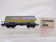 Eso-7644 5491 Fleischmann h0 druckgaskesselwagen DB 581854 Shell