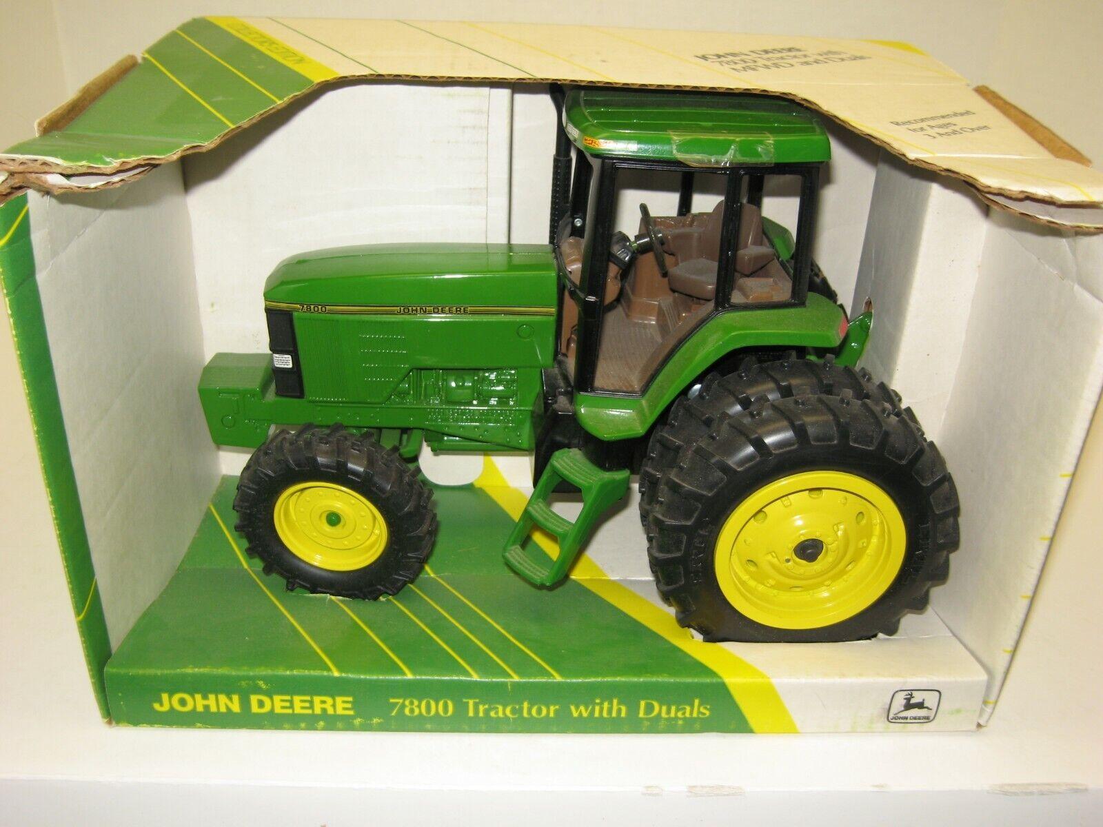 1 16 John Deere 7800 mfwd edición de coleccionista con DUALS Nuevo en Caja Envío Gratuito