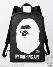 Bape A BATHING APE 2015 A/W Catalog Book Magazine + Ape Head backpack Bag Black