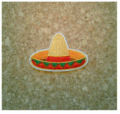 "Iron On Embroidered Patch Holiday Celebratio Cinco De Mayo /""FIESTA/"""