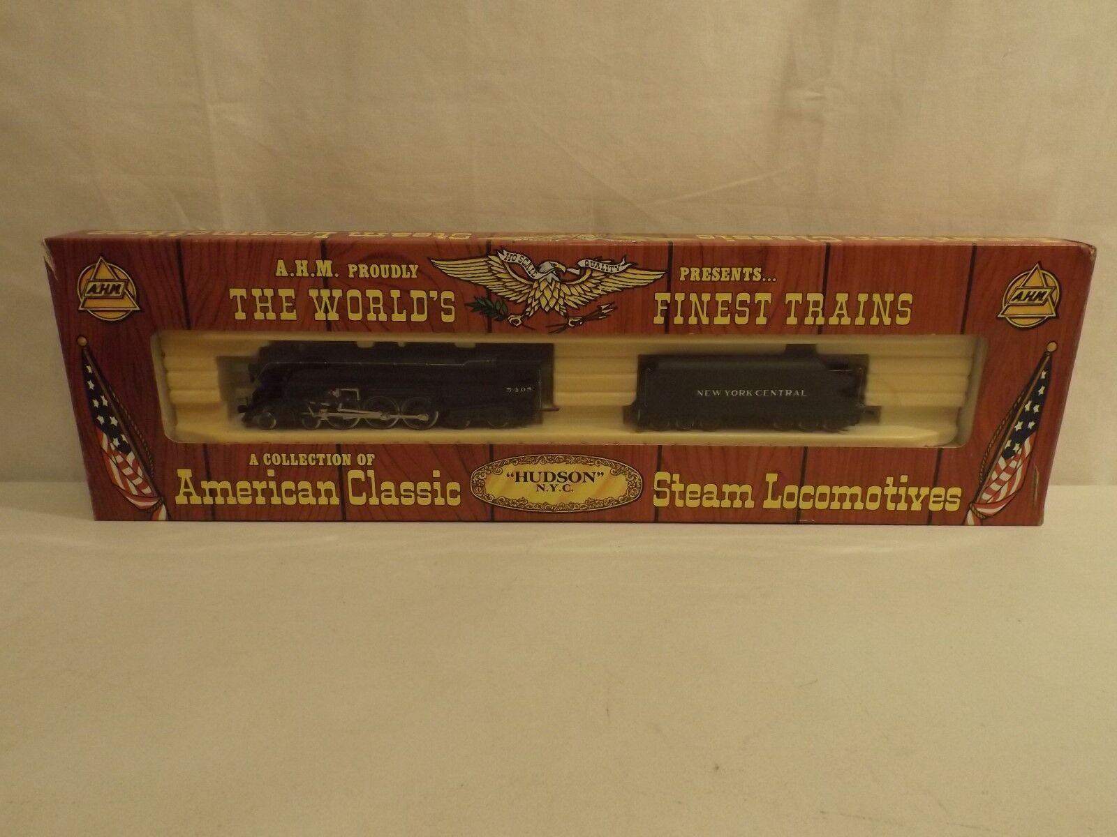 Ho Rivarossi Ahm New York Central 4-6-4 Hudson Motor De Vapor En Caja Original