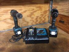 "Makita XT248R Cordless 18V Li-Ion 1/2"" Drill/Driver & Impact & Charger Combo Kit"