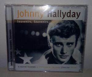 CD-JOHNNY-HALLYDAY-SOUVENIRS-SOUVENIRS-NUOVO-NEW