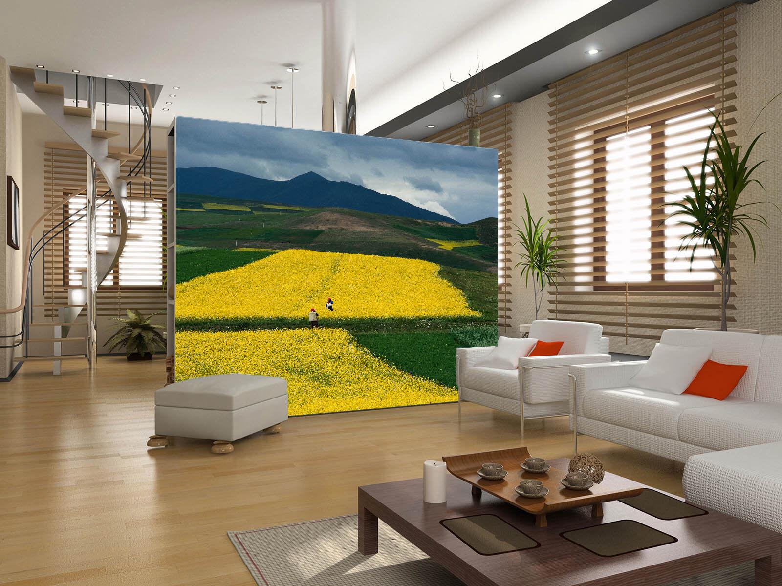 3D Goldenes Gemüsefeld 75 Tapete Wandgemälde Tapete Tapeten Bild Familie DE | Sale  | Erste Kunden Eine Vollständige Palette Von Spezifikationen  | Vorzüglich