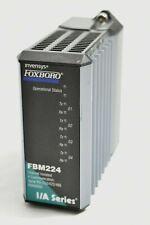Invensys Fbm224 Foxboro Ia Series Process Control Module P0926gg