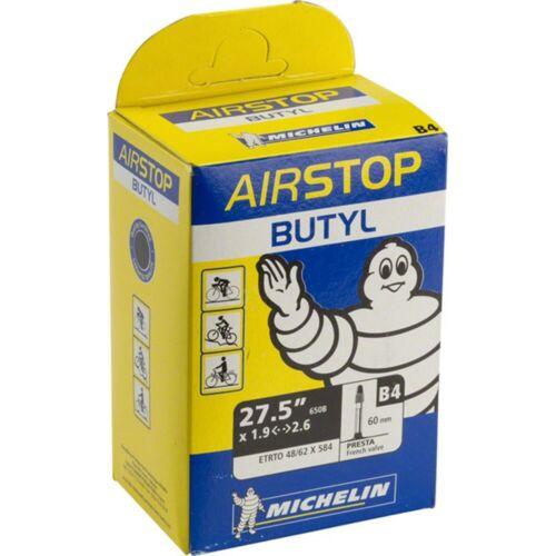 Michelin Airstop Butyl 27.5 x 1.9-2.6 tube intérieur 60 mm Presta Valve 650B Mountain