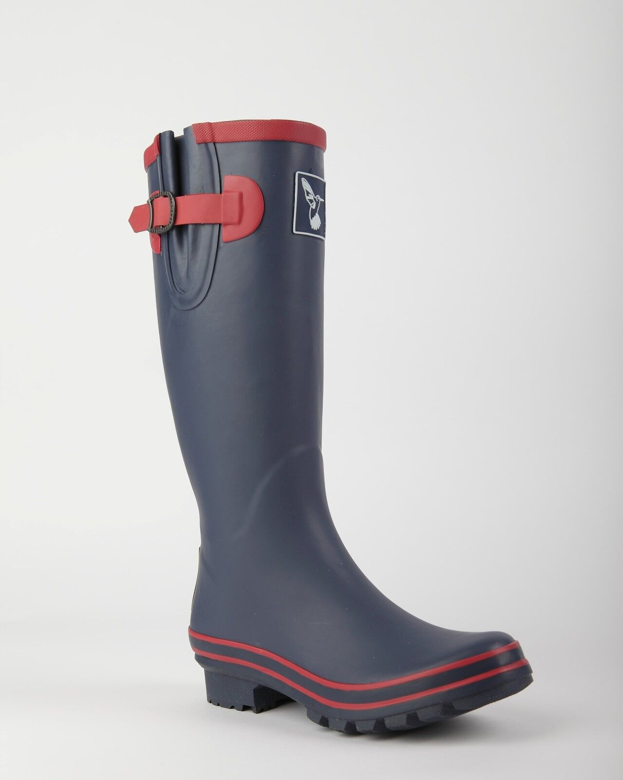 Evercreatures marine avec framboise trim fashion wellies