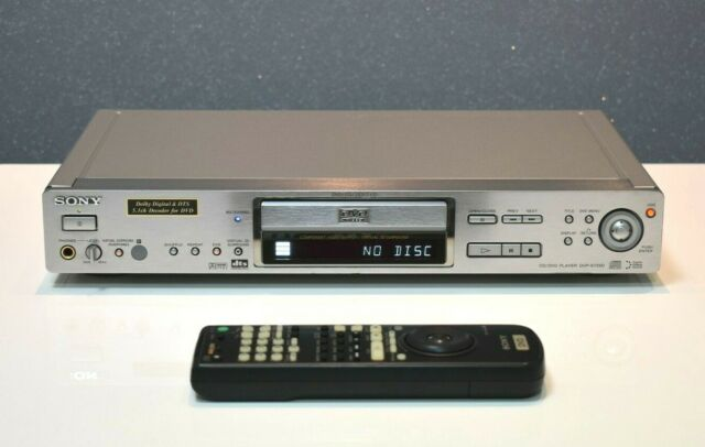 SONY DVP-S735D High End CD/DVD-Player  Top Zustand